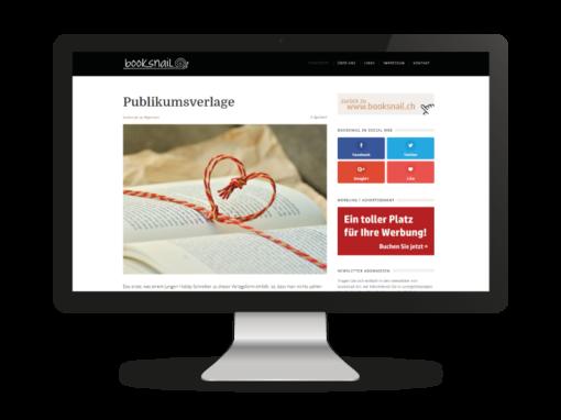 WebBlog von Booksnail